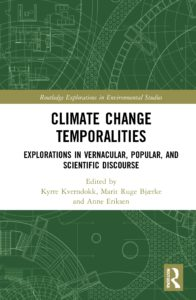 The Cover of the book Climate Change Temporalities.