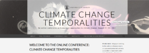 Picture of the webpage Clinate Chage Temporalities